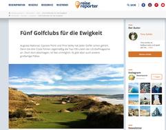 Platzvorstellung von Timo Schlitz von Mein Golf Training auf Reisereporter.de