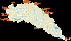 Parco Nazionale di Nairobi - Mappa
