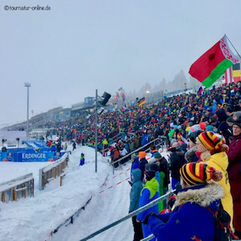 "Biathlon-Stadion ""Am Grenzadler"" in Oberhof"