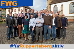 Team der FWG Ruppertsberg