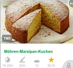 B O C Mohren Marzipan Kuchen Muffins Thermomix Reprasentantin