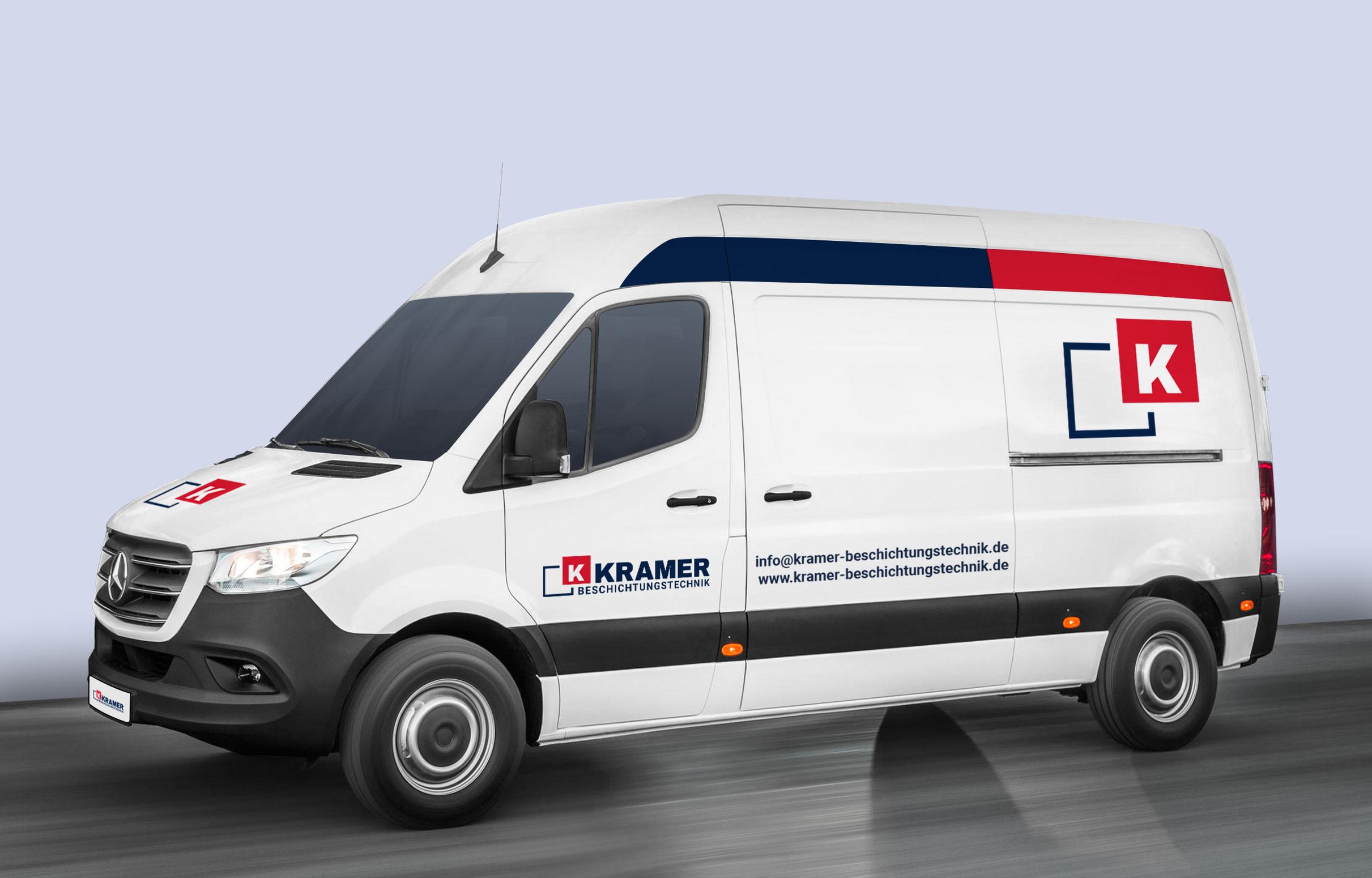 Kramer Beschichtungstechnik Fahrzeugbeschriftung