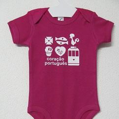 Babygrow Coração Português