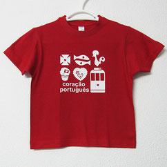 T-shirt coração portugês