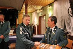 Dieter Smerling erhielt den Hermann-Schreiber-Pokal