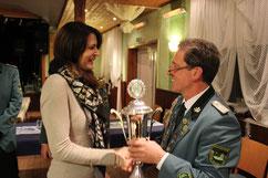 Der BBM-Pokal ging an Susanne Siemke