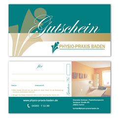 Gutschein Physio-Praxis Baden