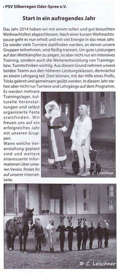 """""""Odervorland Kurier"""", Februar - Ausgabe 2015"""
