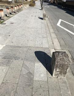 松代柴石 石垣 石畳