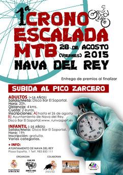 I CRONOESCALADA NAVA DEL REY - Nava del Rey, 28-08-2015