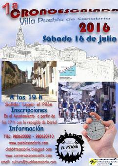 I CRONOESCALADA VILLA DE PUEBLA DE SANABRIA - 16-07-2016