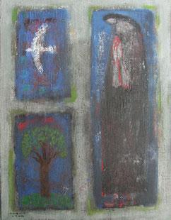 Prayer 41×31.8cm Oil on canvas