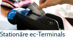 Vermietung und Verkauf von stationären EC- und Kreditkarten-Transaktionsterminals