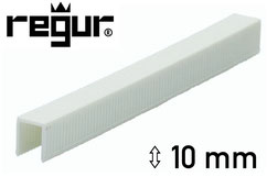 Heftklammern aus Kunststoff - Plastik - Regur H-10 - 10 mm