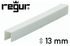 Heftklammern aus Kunststoff - Plastik - Regur H-13 - 13 mm