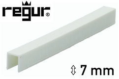 Heftklammern aus Kunststoff - Plastik - Regur H-7 - 7 mm
