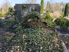 Einzelgrab des serbischen Kriegsgefangenen Branimir Zlisic, gestorben am 28. Juli 1941 in Lübberstedt. Foto: J. Dohrmann, 2020