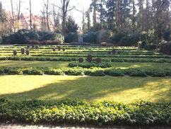 Auf dem Zentralfriedhof ruhen auf den Grabfeldern V und VI insgesamt 126 in und um Lüneburg verstorbene Kriegsgefangene und Zwangsarbeiter verschiedener Nationen. Foto: V. Fleig, 2012
