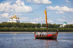 Речная экскурсия по Волге. Ярославль