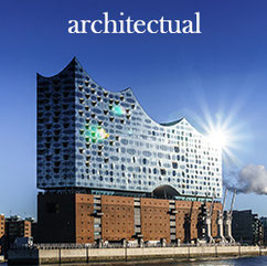 architectual menubutton elbe philharmonic hall