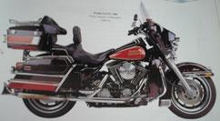 Moto Harley-Davidson FLHTC