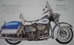 Moto Harley-Davidson FLH
