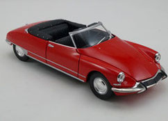 citroën DS 19 cabriolet de 1956 Welly 1/24