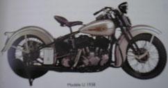 Moto Harley Davidson VLH
