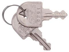 ektools slot sleutel brievenbus
