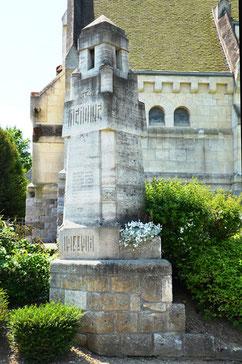 Monument aux Morts de Fresnes-Mazancourt