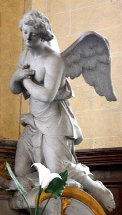 Anges adorateurs-Eglise de Revelles