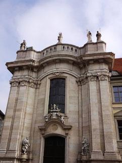 Spätbarocke Westfassade, Dom, Eichstätt