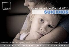 C. de Madrid. Suicidios 2013.