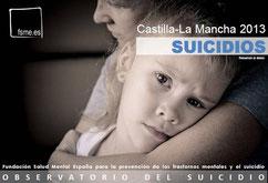 Castilla-La Mancha. Suicidios 2013.