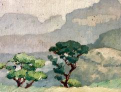Jules Louis Moréteau. Peintre Africaniste .Bordeaux. Bassam
