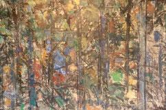 Roger Mathias . Arcachon Peinture bordelaise. Bordeaux. Bassam