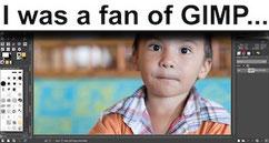 I loved GIMP