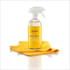 Dustar®-Cleaner-Set+ Art.Nr. 5086 • Dustar®-Cleaner, 500 ml-Flasche • Schaumpumpe, weiss • 2 x Dustar®-Tuch, 35x40 cm • inkl. Klickbox