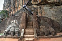 Eingang zum Löwenfelsen