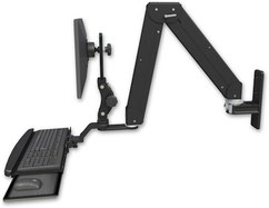 ICWUSA ELP5220シリーズ ウォールマウント モニターアーム ディスプレイキーボード用