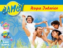 c623741e55 Bambi Venta por catálogo de ropa interior para bebe niños y adulto en  estados unidos Mexico