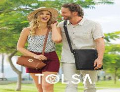 Tolsa venta por catalogo de bolsos carteras y accesorios para dama y caballero en estados unidos Mexico