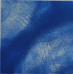 「Wind blue」10×9.5cm    ¥15,000(税込シート価格)