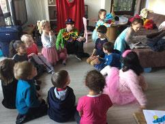 anniversaire enfants animation clown magicien marionnettes