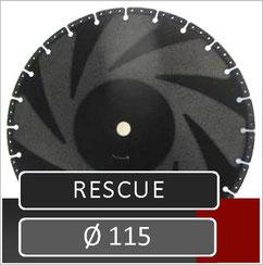 prodito slijpschijf rescue 115mm haakse slijper voor het zagen van alle materialen
