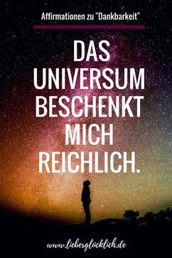 positive Affirmationen Dankbarkeit Berlin lieber glücklich