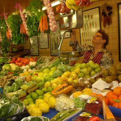 Exotische Früchte in Ibiza