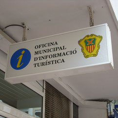 Touristen-Information in Santa Eulalia