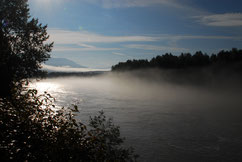Morgenstimmung am Kitimat River
