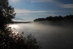 Morgenstimmung am Kitimat River